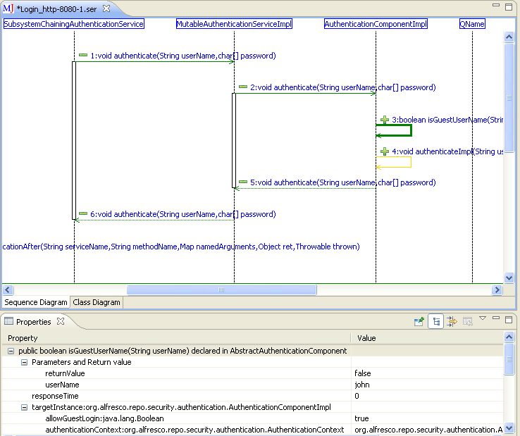 Maintainj reverse engineer java like never before sequence diagram screenshot 1 ccuart Gallery
